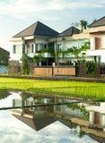 Villas on Bali Stock Photo