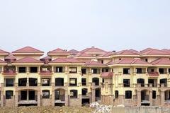 Villas construction Stock Photo