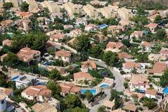 Villas on the Costa Blanca Stock Photos