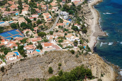 Villas on the Costa Blanca Royalty Free Stock Photography