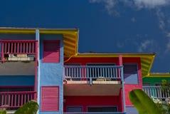 Villas de logement au compartiment de Leverick Photos libres de droits