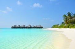 Villas de paradis photo libre de droits