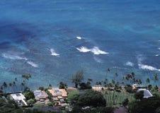 Villas de plage de Honolulu Photographie stock libre de droits