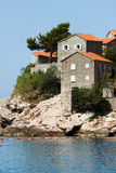 Villas of Hotel Sveti Stefan.  Royalty Free Stock Photo