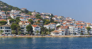Villas and hotels on the Princes' Islands.Turkey Stock Photo