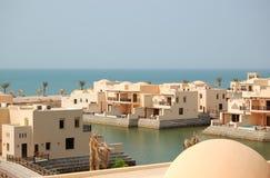 Villas à l'hôtel de luxe Photos libres de droits