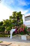 Villas at luxury hotel Royalty Free Stock Photos