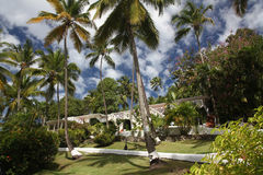 Villas of Marigot Bay, St. Lucia Royalty Free Stock Images