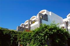 Villas at modern luxury hotel Stock Image