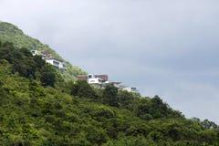Villas on mountain Royalty Free Stock Photo