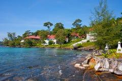 Free Villas On The Independance Beach Sihanoukville Stock Photo - 36069550