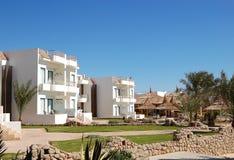 Villas at popular hotel. Sharm el Sheikh, Egypt Stock Photos