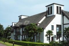 Villas pour des vacances Photographie stock libre de droits
