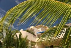 Villas privées au Mexique Photo libre de droits