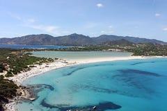 Villasimius, porto giunco beach Stock Image