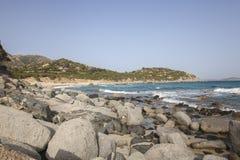 Villasimius Porto Sa Ruxi (Sardinia - Itália) fotos de stock