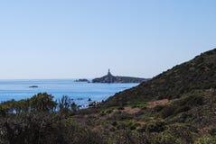 Villasimius, in Sardinia, Italy Stock Photography