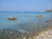 Villasimius - Sardinige Stock Foto's