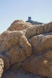 Villasimius tower - Sardinia, Italy Royalty Free Stock Images