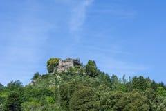 Villasobroso城堡  免版税库存图片