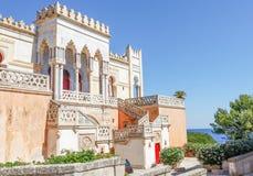 Villastricchi, Santa Cesarea Terme, Puglia, Italië Royalty-vrije Stock Fotografie