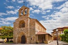 Villaviciosa kościół Obraz Royalty Free