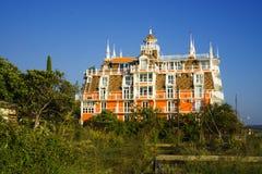VillaVilla SOVA на Чёрном море Абхазия стоковые изображения