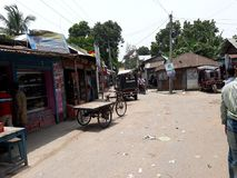 Bazaar. Villaze hat Bazaar in Narail Bangladesh Royalty Free Stock Image