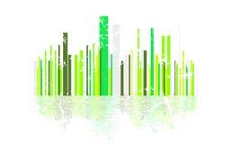 Ville écologique Image libre de droits