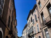 Ville δ ` Aix-En-Provence, αρχιτεκτονική στοκ φωτογραφία