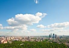 Ville 5 de Moscou Images libres de droits