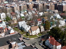 ville aérienne New York photo libre de droits