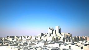 Ville abstraite Photographie stock libre de droits