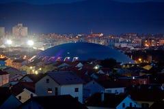 Ville adriatique d'horizon de Zadar Photo libre de droits