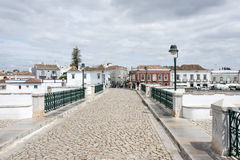 Ville Algarve Portugal de Tavira Images stock