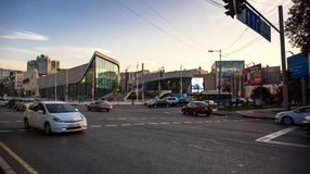 Ville Almaty Photographie stock