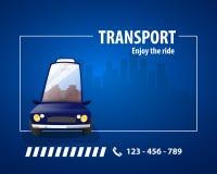 Ville alternative de transport illustration stock