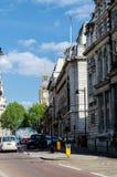 Ville/Angleterre de Londres : Rues de Westminster image libre de droits
