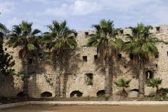 Ville antique d'acre, Israël Images stock