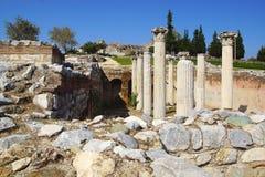 Ville antique d'Ephesus, Turquie Image stock
