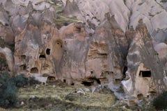 Ville antique dans Cappadocia, Turquie Photographie stock