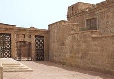 Ville antique dans une étape de film Photographie stock libre de droits