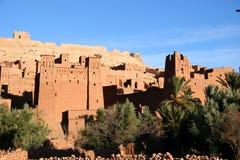Ville antique de benhaddou d'AIT Image stock