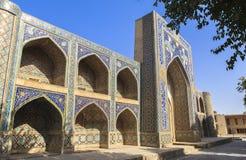 Ville antique de Boukhara dans l'Ouzbékistan Image stock