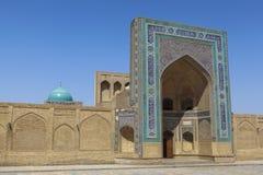 Ville antique de Boukhara dans l'Ouzbékistan Images libres de droits