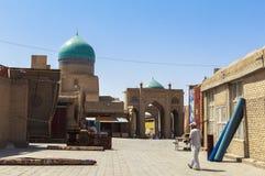 Ville antique de Boukhara dans l'Ouzbékistan Image libre de droits
