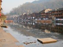 Ville antique de Fenghuang Images libres de droits
