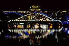 Ville antique de Fenghuang, comme ville historique et culturelle nationale, la première série de comtés de touristes forts en Chi photographie stock libre de droits
