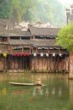 Ville antique de Fenghuang en Chine Photo stock
