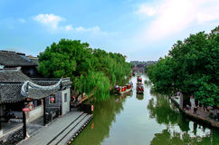 Ville antique de Jiangnan Images stock